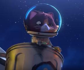 44 Kedi Kozmo, Astronot Kedi