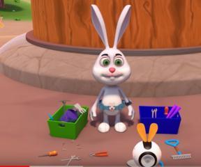 Akıllı Tavşan Momo Bado ve Arkadaşlık