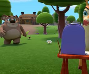 Akıllı Tavşan Momo Bombom Hobi Arıyor