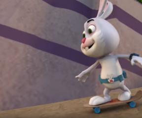 Akıllı Tavşan Momo Dev Tavşan