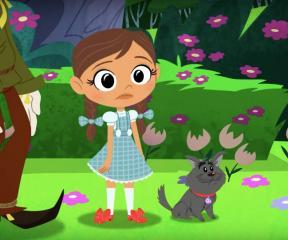 Dorothy ve Oz Büyücüsü Oz Ayak
