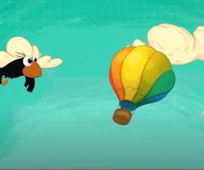 Ege ile Gaga Uçtu Uçtu Balon Uçtu