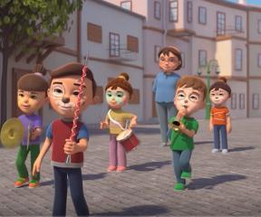 Elif ve Arkadaşları Bando Takımı