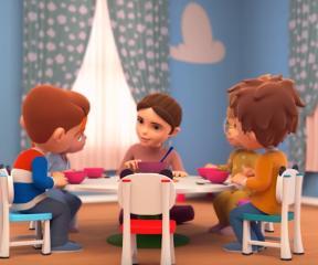 Elif ve Arkadaşları Küçük Aşçılar