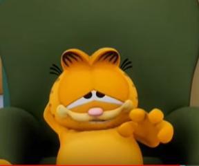 Garfield 1. Bölüm(Durumun Ağırlığı)