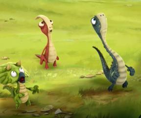 Gigantosaurus Devasa Dinozor Ayati