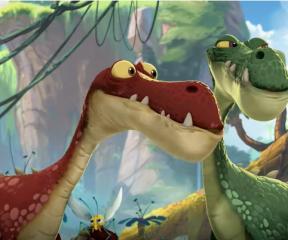 Gigantosaurus Gigantosaurus'tan Pul Almak