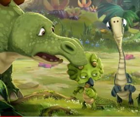 Gigantosaurus Rocky Tehlikede