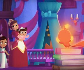 Güçlü Prenses Nella Gece Gündüz Ayakta