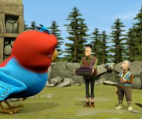 Keloğlan Minik Kuş