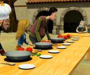 Keloğlan Yemek Yarışması
