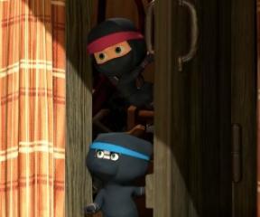 Maşa ile Koca Ayı Ev Yapımı Ninjalar