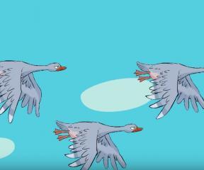 Masallar Sihirli Çin Kazları