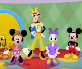 Mickey Mouse Becerikliler Görev Başında
