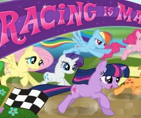 My Little Pony Eğlenceli Yarış