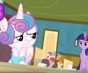 My Little Pony Twilight, Flurry Heart'a Kızıyor