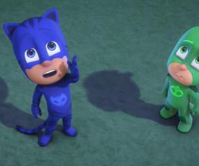 Pijamaskeliler Kertenkele Çocuk Uçuyor