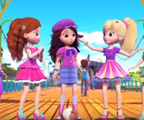 Polly Pocket Havuz Eğlencesi
