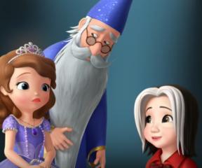Prenses Sofia Merlin'in Güçlü, Sihirli Değneği