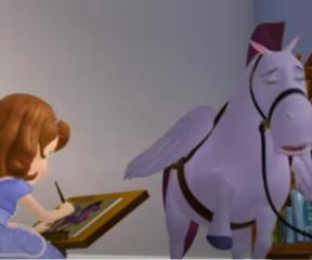 Prenses Sofia Sofia Resim Yapmayı Öğreniyor