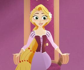 Rapunzel: Serüvenler