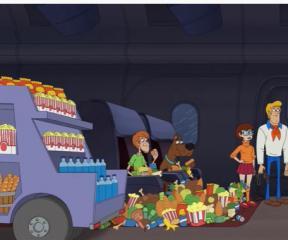 Scooby Doo Tehlikeli Tamir