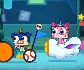Unikitty Mr. Frown'a Karşı Epik Savaş