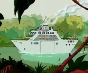 Uzun Kuyruk Marsupilami Gemi Gezisi
