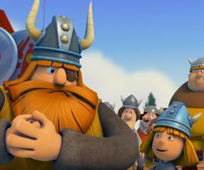 Vikingler Baloncuklu Yarış